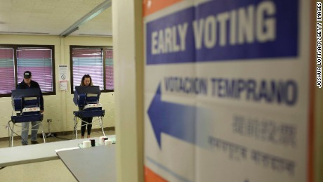 Early voting: Controversy versus convenience