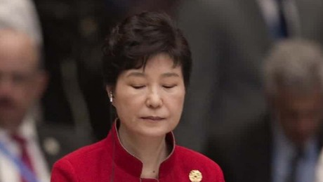 South Korean presidential scandal 'unprecedented'