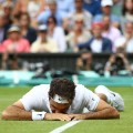 Federer floored