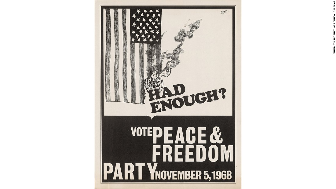 The Peace & Freedom Party grew out of frustration and anger with the Democratic Party's support for the war in Vietnam and its failure to give greater support to the Civil Rights Movement. Officially founded in 1967, the party achieved ballot status in California, followed by other states, in 1968.