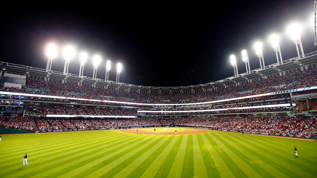 A general view during Game 6 of the 2016 World Series.