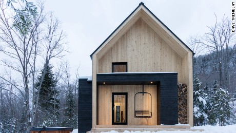 Villa Boréale, Quebec, Canada, by CARGO Architects.