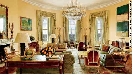 The first look inside Obama's private White House living quarters