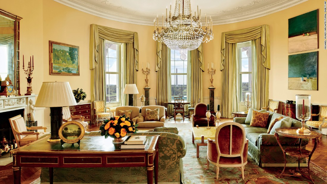 The Obamas gave Architectural Digest magazine an exclusive tour of their private quarters at the White House.