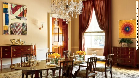 The Old Family Dining room in the White House