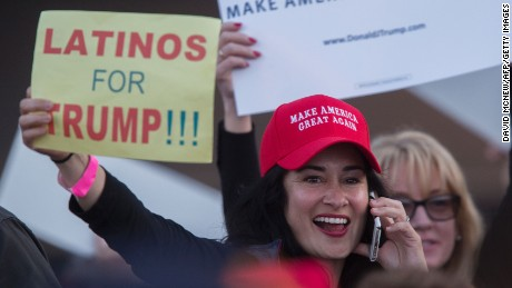 Why some Latinos are backing Trump
