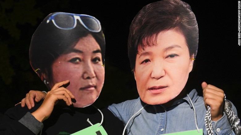 South Korean presidential scandal 'unprecedented'