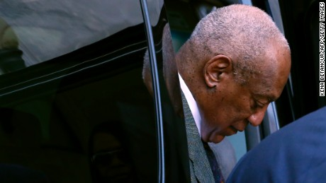 Comedian Bill Cosby, at the Montgomery County courthouse in Norristown last November.