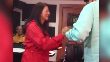Venezuela's President slammed for salsa dancing as country faces crisis