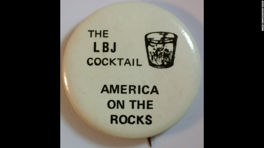 """The LBJ cocktail"" here refers negatively to President Lyndon B. Johnson, who was seeking re-election in 1964. He defeated Barry Goldwater for a second term."