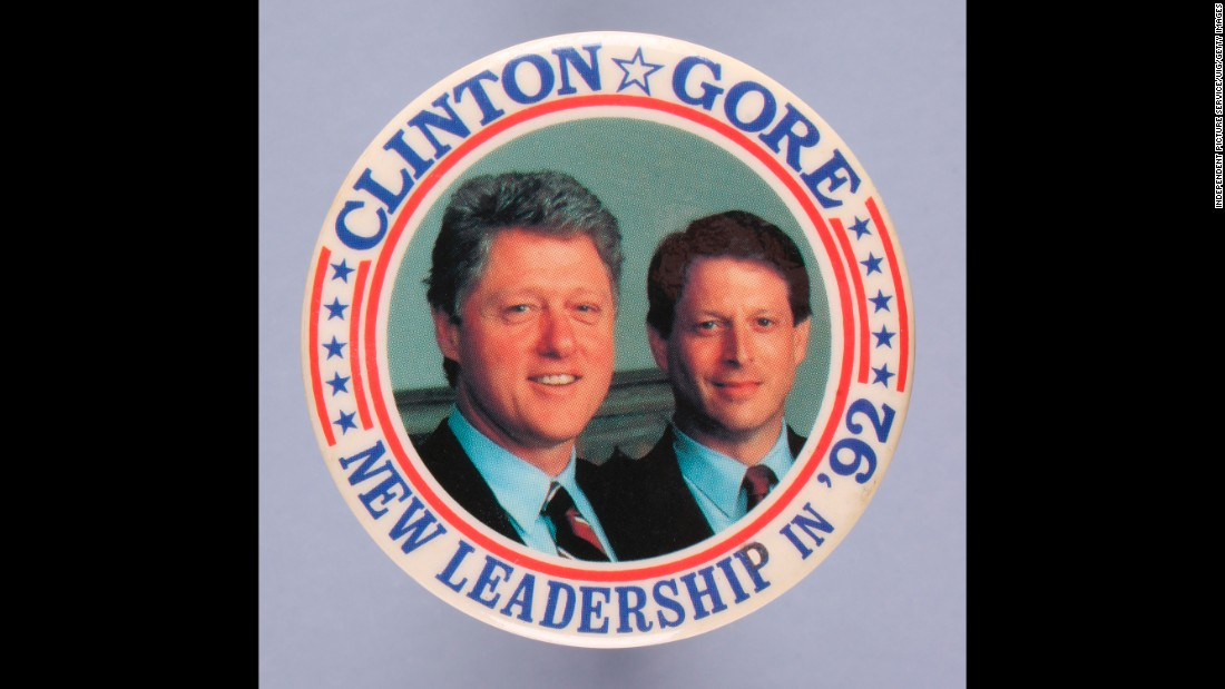 Bill Clinton, along with running mate Al Gore, defeated incumbent George H.W. Bush in the 1992 election, ending 12 years of Republican leadership in the White House.