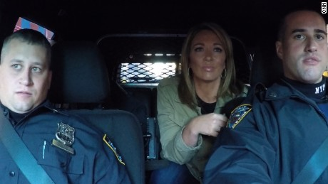 New York Police officers Dan Sendrowski and John Campanella return to the scene of the blast with CNN's Brooke Baldwin.