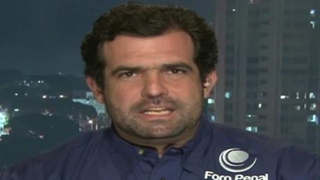cnnee panorama entrevista alfredo romero excarcelacion opositores venezuela_00020013