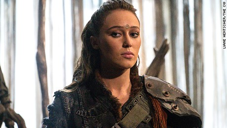 Alycia Debnam-Carey as Lexa in an episode of CW's 'The 100.'