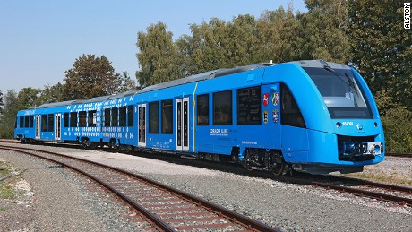 zero emission hydrogen train to run in germany cnn com