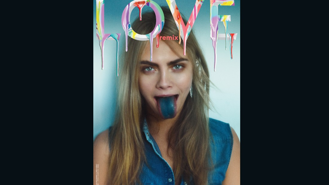 Cara Delevingne on the cover of Issue 11