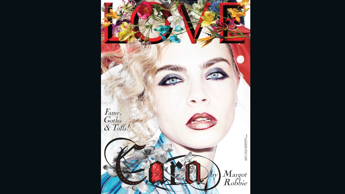 Cara Delevingne on the cover of Issue 16