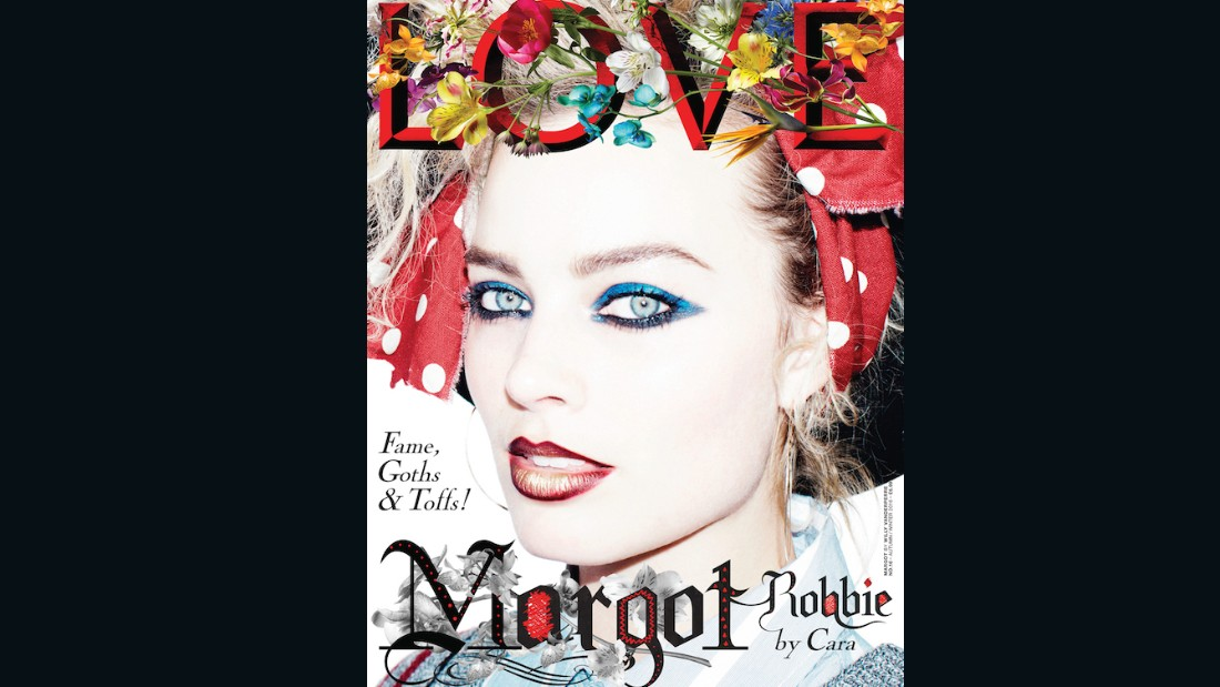 Margot Robbie on the cover of Issue 16