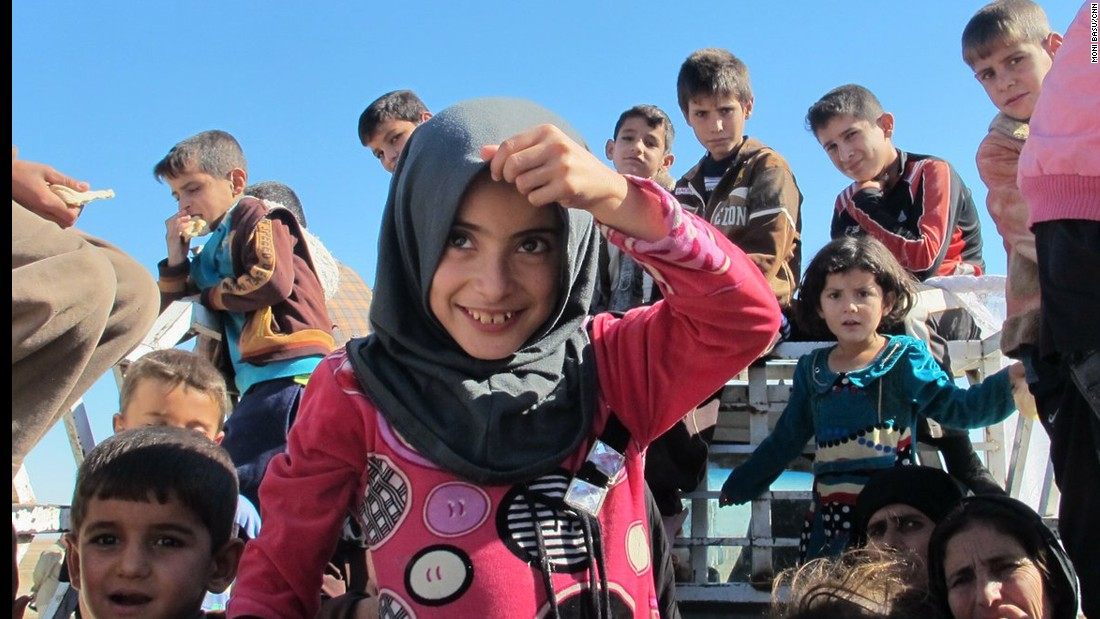 Hundreds of Iraqis fled their homes around Mosul on Thursday, November 3, for evacuee camps as fighting between Iraqi forces and ISIS intensified. Iraqi forces have entered Mosul for the first time in more than two years.