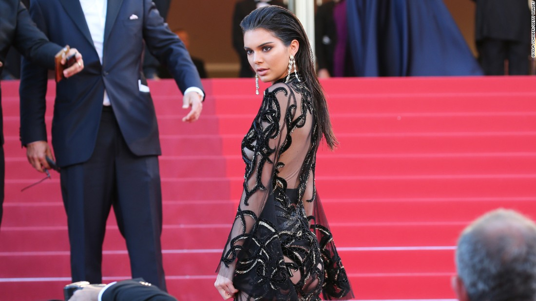 Kendall Jenner jets all over the world for her job. In May, she attended the 69th annual Cannes Film Festival at the Palais des Festivals.