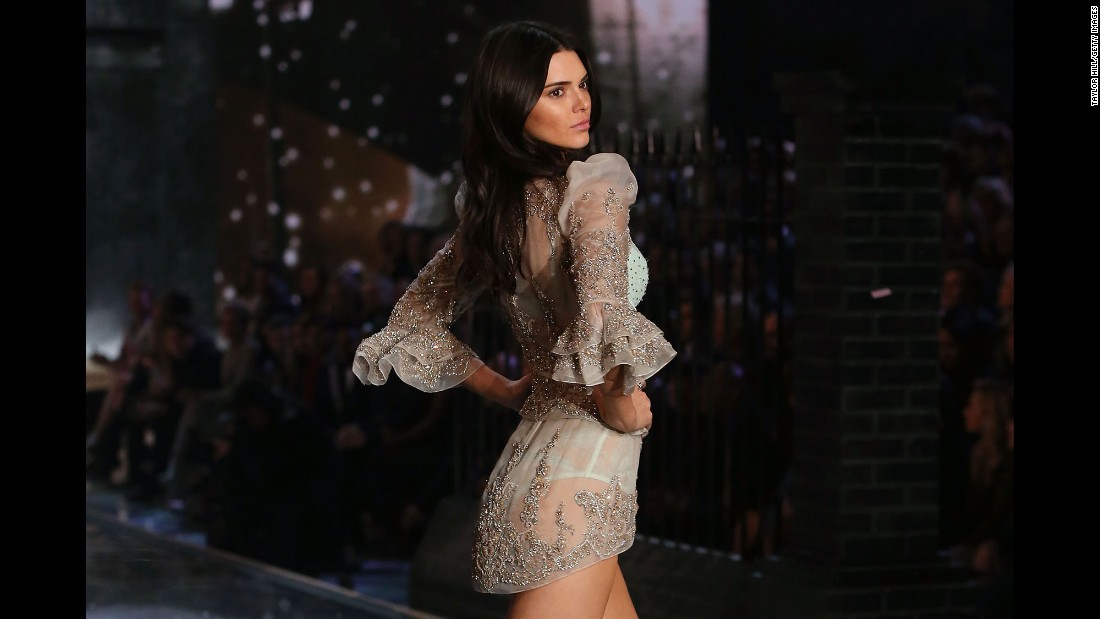 Kendall Jenner said she  achieved a lifelong dream when she walked in the Victoria's Secret Fashion Show in 2015.