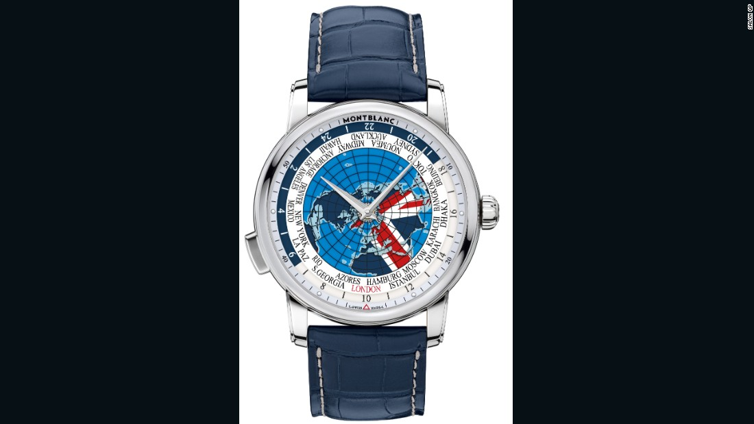 "<a href=""http://www.montblanc.com/"" target=""_blank"">Montblanc</a> first revealed its 4810 Orbis Terrarum at <a href=""http://edition.cnn.com/2016/01/25/luxury/sihh-2016-geneva-watches-highlights-independents/"">Salon International de la Haute Horlogerie Genève</a> in January to commemorate its 110th anniversary. However, this limited edition Great Britain model (only five were made) was developed specifically for Salon QP."