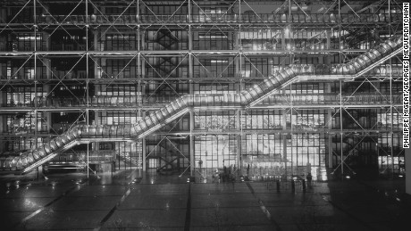 photo Philippe Migeat et Georges Meguerditchian Centre Pompidou Architectes Renzo Piano et Richard Rogers