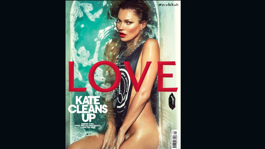 Kate Moss on the cover of Issue 9