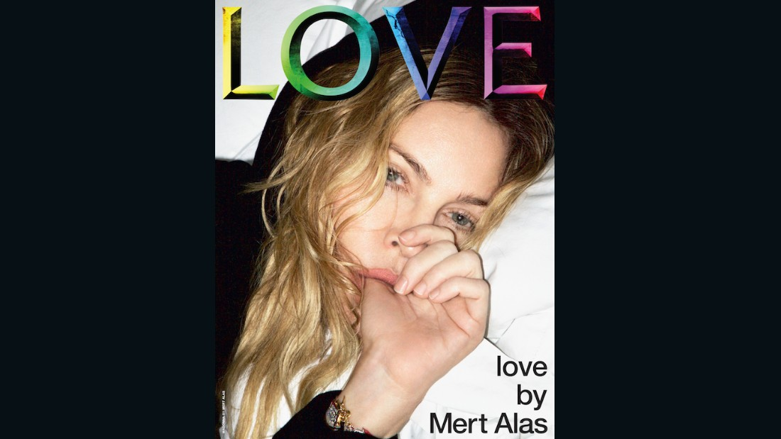 Madonna on the cover of Issue 16.5