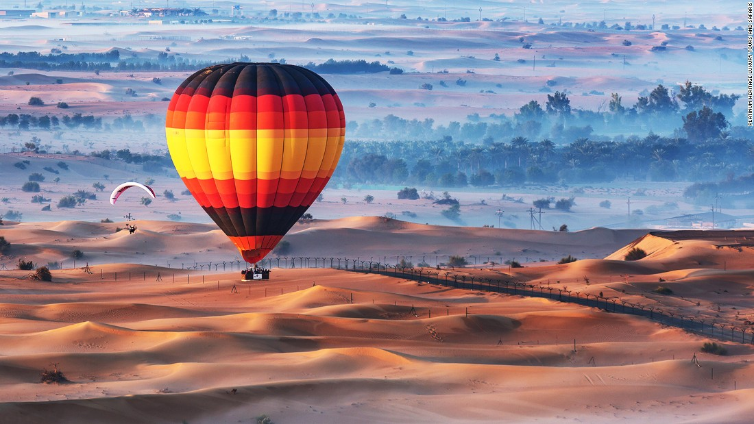 Abu Dhabi makes for a classic romantic rendezvous. Attractions for the amorous include overnight desert safaris followed by a sunrise balloon ride.