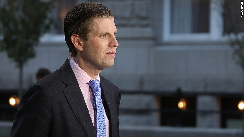 Eric Trump: David Duke 'deserves a bullet'