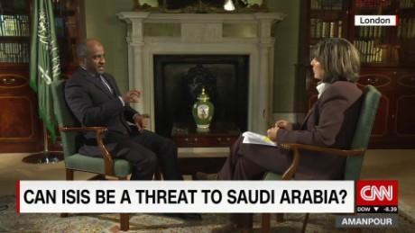 Intv Amanpour Ahmed Asiri Saudi Arabia Yemen Isis 00034818