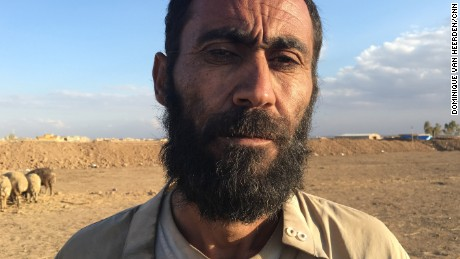 45-year-old shepherd Shukar Mahmoud.