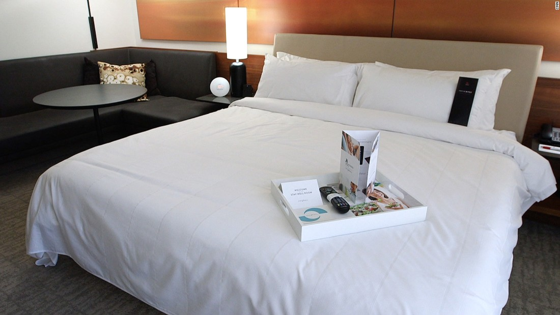 "The Stay Well room is the latest in a new breed of ""healthy"" hotel concepts."