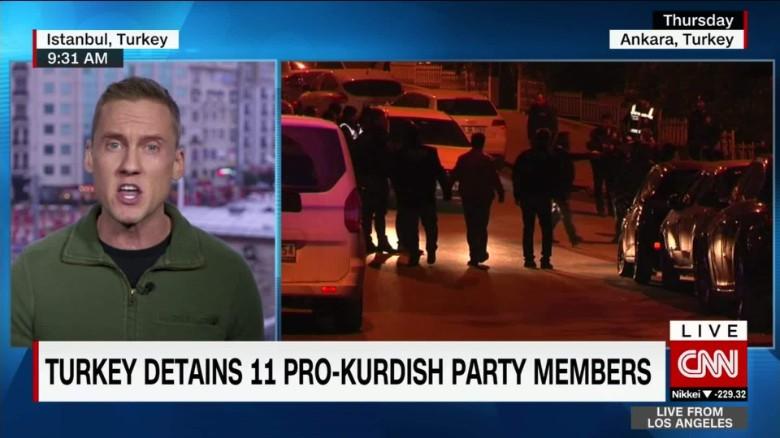 Will Ripley Turkey detentions kurdish party social media explosion_00001713