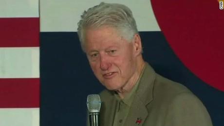 bill clinton on melania trump bullying speech sot nr_00001803