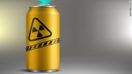 When energy drinks contained real (radioactive) energy