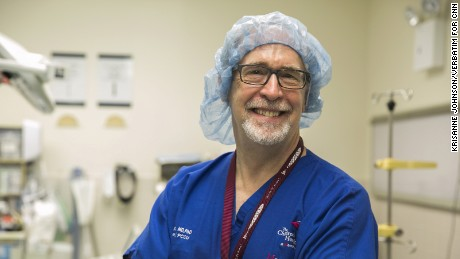 Dr. Michael Ushay, director of the pediatric critical care unit.