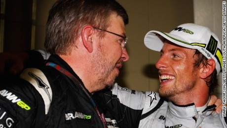 Brawn helped guide Jenson Button to the 2009 world title with his eponymous team