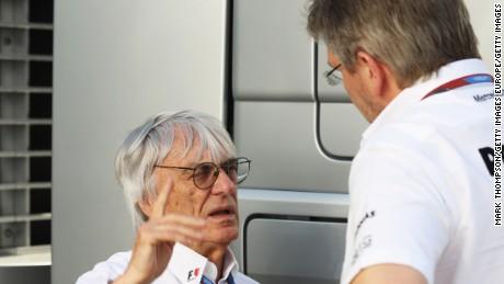 Brawn (right) and F1 supremo Bernie Ecclestone haven't always seen eye to eye