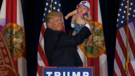 Donald Trump baby on stage sot_00000000