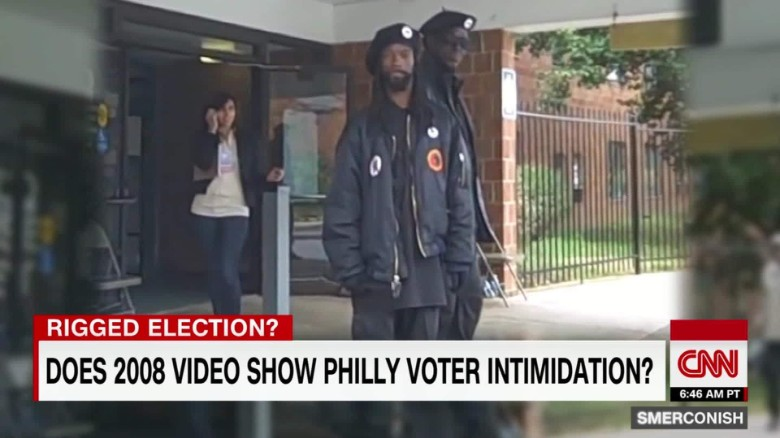 Was 2008 Black Panther incident voter intimidation? _00004116