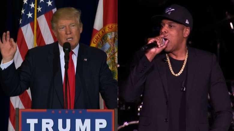 Donald Trump Jay-Z language sot_00000000