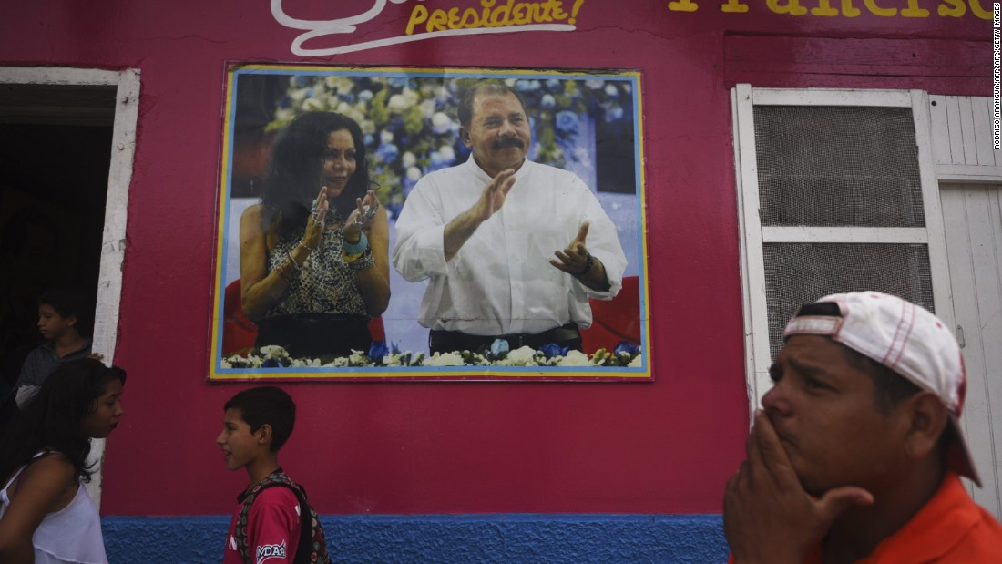 Nicaraguan President Set For Fourth Term, This Time With Wife As VP
