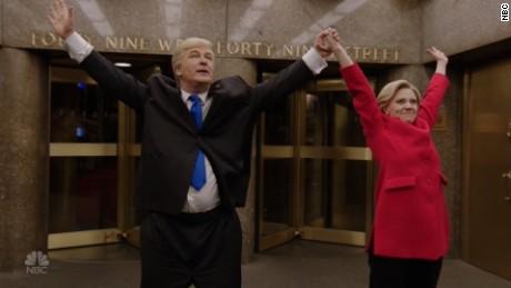 SNL Trump Clinton