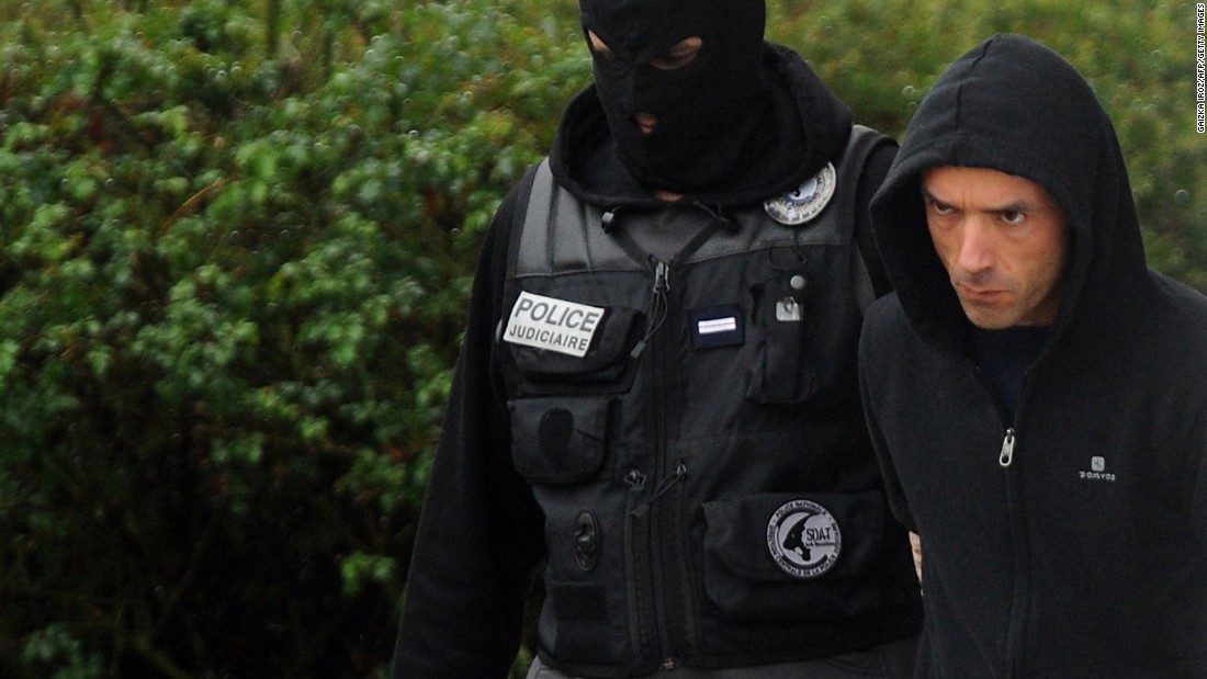 Alleged Basque Separatist Leader Arrested