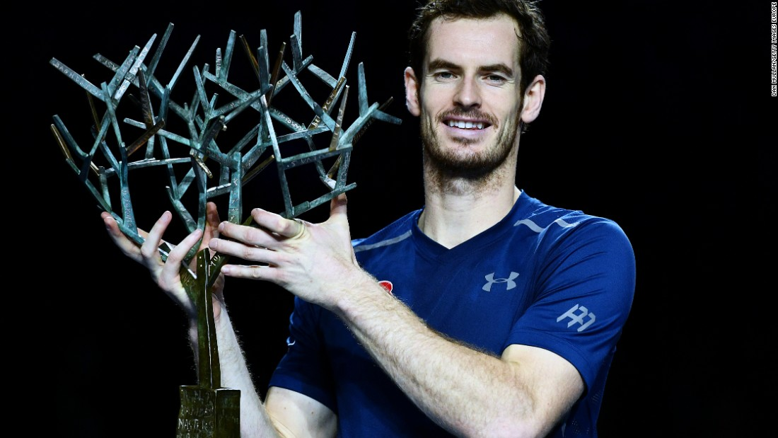 While Federer dropped outside the top 10 Monday, Andy Murray replaced Djokovic as the world No. 1.