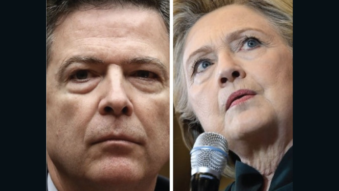 image of Clinton blames Comey, DNC for election loss