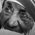 Kelvin Okafor Mother Teresa part drawn