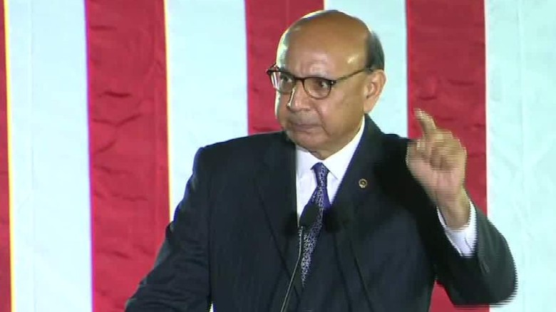 Khizr Khan: Tuesday, we'll prove US belongs to all of us